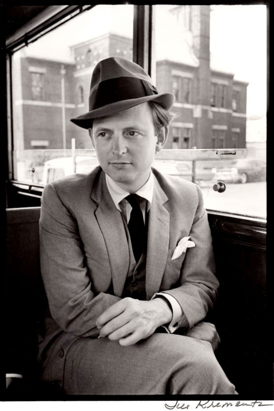 Tom Wolfe; Photo by Jill Krementz, 1964