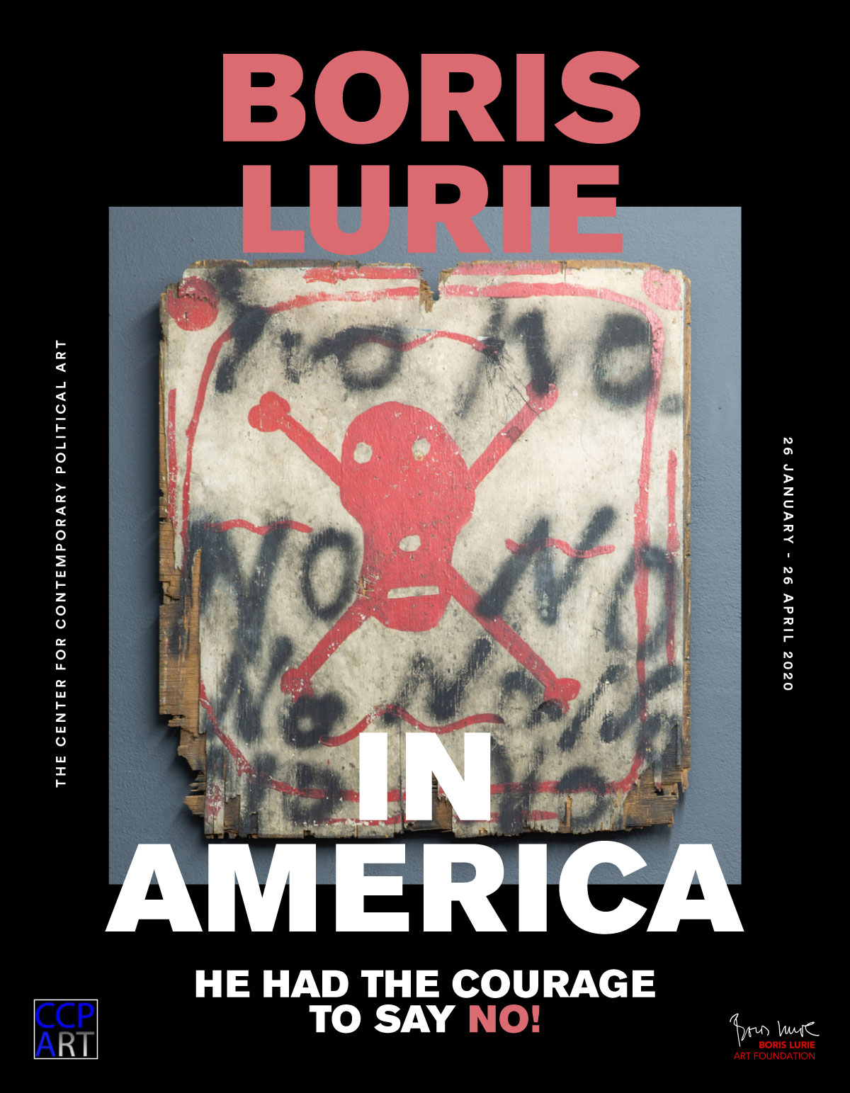 Boris Lurie in America: He had the courage to say NO! - catalog cover