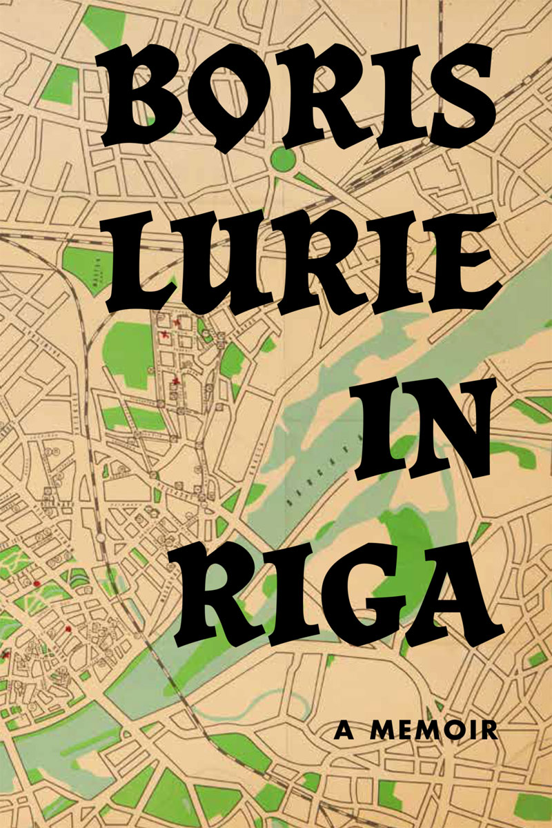 Boris Lurie, In Riga - a memoir book cover