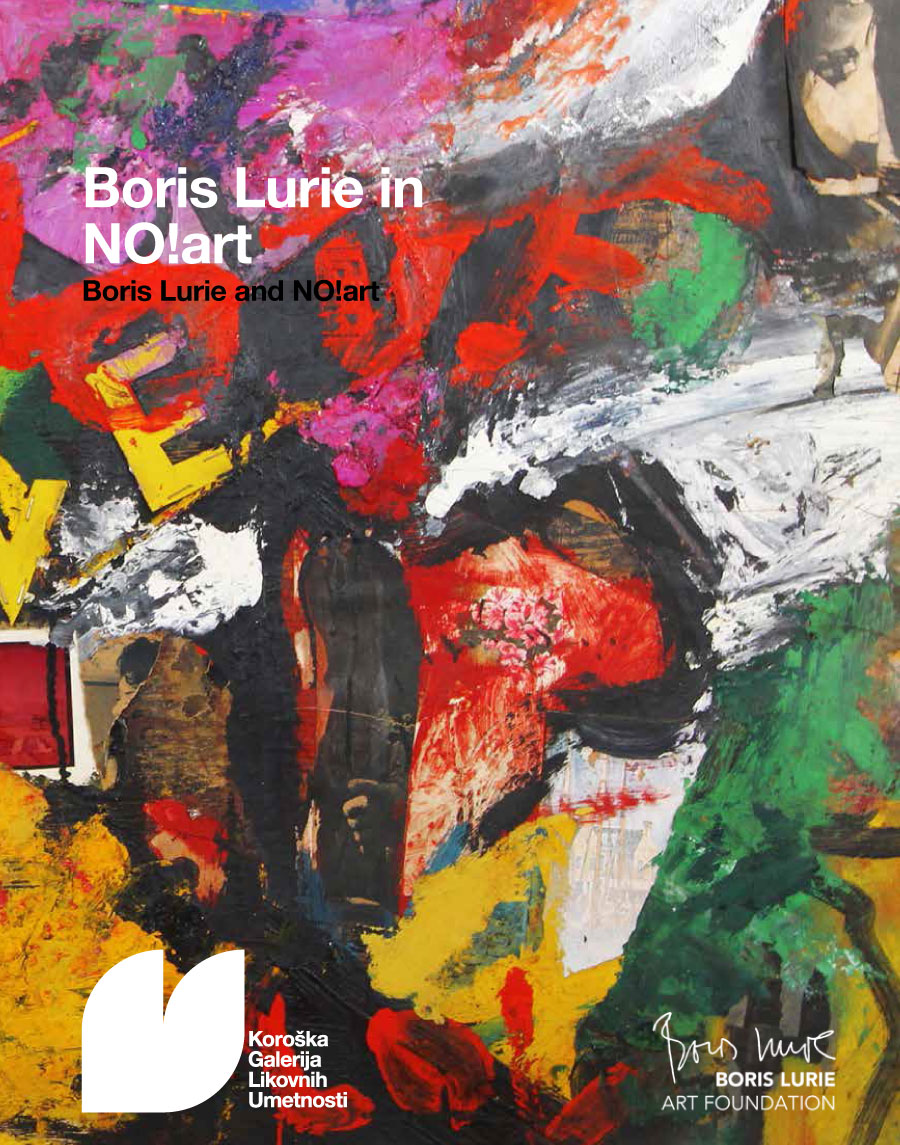 Boris Lurie and NO!art cover