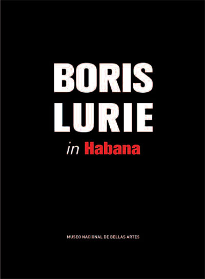 Boris Lurie in Habana exhibition catalog cover, 2017