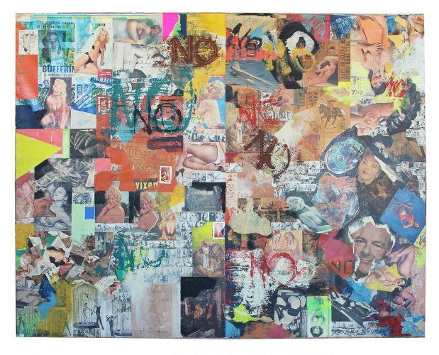 Big No Painting by Boris Lurie
