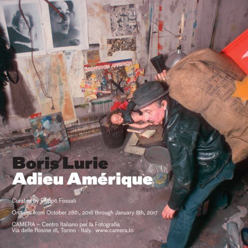 Boris Lurie exhibition in Torino Italy