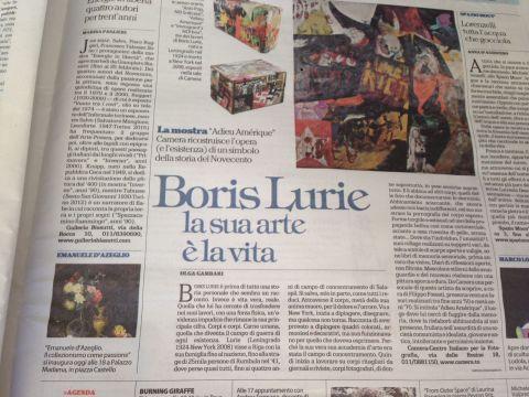Article in Italian press