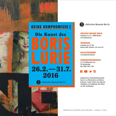 NO COMPROMISES! The Art of Boris Lurie  at the Jewish Museum Berlin