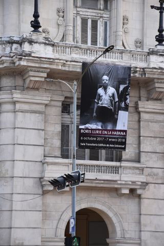 Boris Lurie in Habana