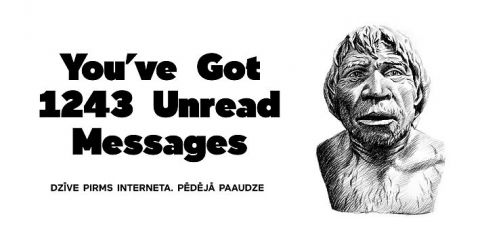 YOU'VE GOT 1243 UNREAD MESSAGES. The Last Generation Before the Internet