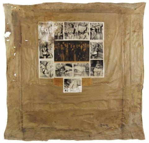 Boris Lurie, Saturation Paintings: Buchenwald, 1960-1963