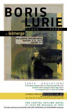Boris Lurie @ (e)merge