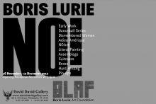 Boris Lurie NO! poster