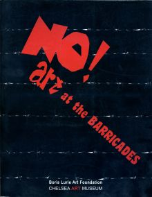 NO!art at the Barricades art exhibition catalog